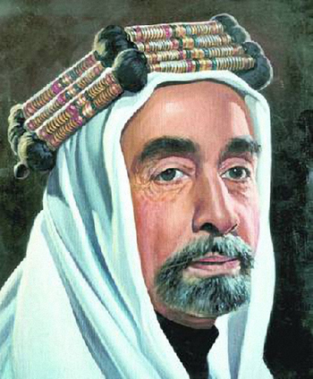 King Abdullah I (1882-1951), who was assassinated as he was entering Al Aqsa Mosque in Jerusalem for Friday prayers. King Abdullah I, the founder of the Kingdom, led the Arab forces of the Great Arab Revolt with his brothers Ali, Feisal and Zeid against the Ottoman Empire. By the end of World War I, he assumed the Throne of Transjordan, which was formed in 1921, establishing the first centralised government out of a mostly tribal and nomadic society. @