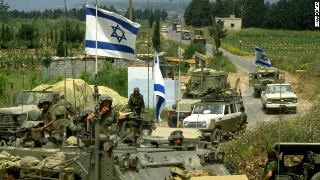 nstability in Lebanon has drawn in soldiers from neighbouring Israel and Syria at various points in the country's history. In 1982 Israel invaded Lebanon in a push to destroy the PLO (Palestine Liberation Organization). Israel kept troops in the south until 2000. In 2005 Syria withdrew troops that initially arrived in 1976. @CNN