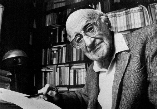 Yeshayahu Leibowitz morreu em Fevereiro de 1994, aos 91 anos. Era respeitado e admirado como um dos maiores pensadores do Judaísmo moderno, editor da grande Enciclopédia Hebraica, defensor de uma separação entre religião e Estado. © Ricky Rosen | AP