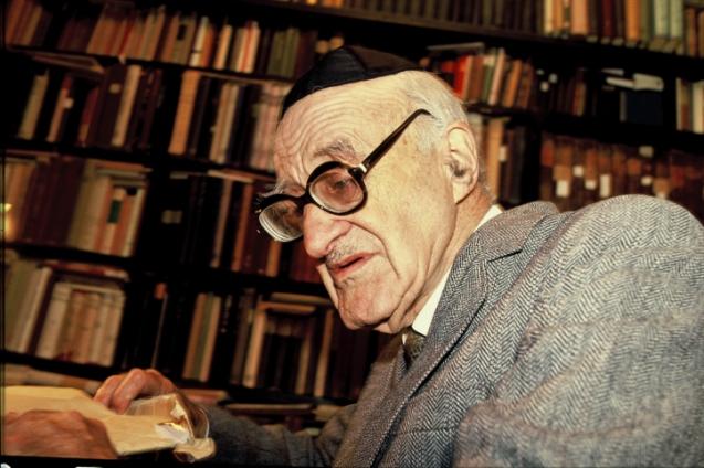 Yeshayahu Leibowitz, numa foto de 1987 © Moshe Shai |FLASH90