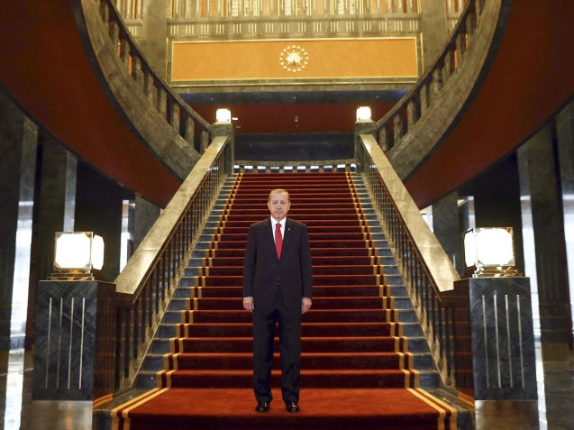 has built himself a palace that is bigger than the White House or Buckingham Palace, occupies more than 1.6 million square feet of land and cost almost £400 million. Quoted in Turkey's Hurriyet newspaper, finance minister Mehmet Simsek revealed that the majority of the new 1.37 billion lira (£385.3m) budget had already been spent on the residence from public coffers. A further £85 million has been allocated for the Ak Saray – or White Palace – in the coming year, which will take it to almost double the estimated cost to Turkish taxpayers. The palace has 1,000 rooms, advanced security systems, makes lavish use of marble and even has silk wallpaper in the bathrooms, it has been reported. It is bigger even than the vast Palace of Versailles in France, and its use by Mr Erdogan will see the smaller Cankaya Palace occupied by Prime Minister Ahmet Davutoğlu. © The Independent