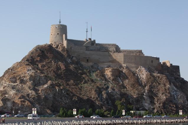 Os Portugueses construíram o Forte de Matara (actual Mutrah), onde ainda permanece, na área adjacente aos de Jajal e Mirani. @DR