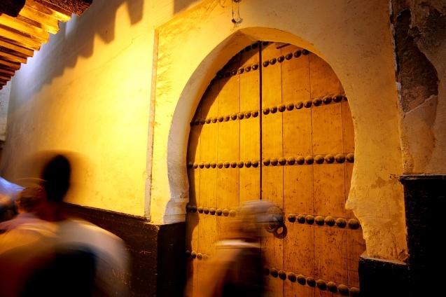 Karaouine , a primera universidade do mundo , actualmente funciona como mesquita . Fes , 07 de Junho de 2006 . @Enric Vives-Rubio