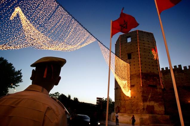 À entrada de Bab Makina, Fès (Marrocos), Junho 2006 @Enric Vives-Rubio