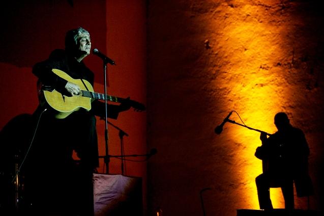 Enrico Macias , musico argelino no festival de musicas sacras . Fes , 08 de Junho de 2006 . @Enric Vives-Rubio