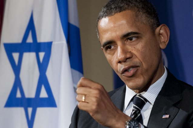 O Presidente Barack Obama, que J Street considera um aliado, não recusa convites do lobby rival, American Israel Public Affairs Committee, que domina o Congresso em Washington, em ambos os campos. @Associated Press (AP)