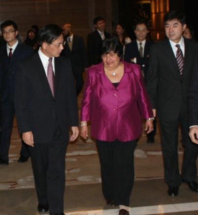 Bibi Sayed Sharaf Al-Alawi, embaixadora do Bahrain na China. @DR (Direitos Reservados | All Rights Reserved)