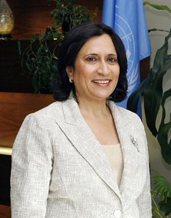Haya Rashed Al-Khalifa, membro da casa real, foi a primeira mulher a ocupar o cargo de embaixadora do Bahrain, primeiro em França e depois da ONU. @DR (Direitos Reservados | All Rights Reserved)