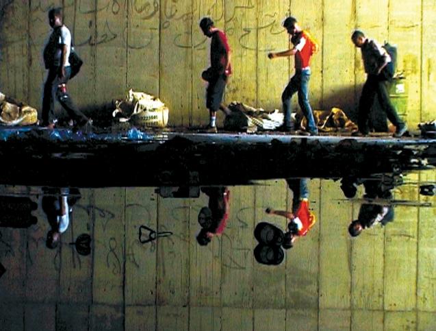 Uma cena de Six Floors to Hell, o documentário de Ben Efrat. © Direitos Reservados | All Rights Reserved