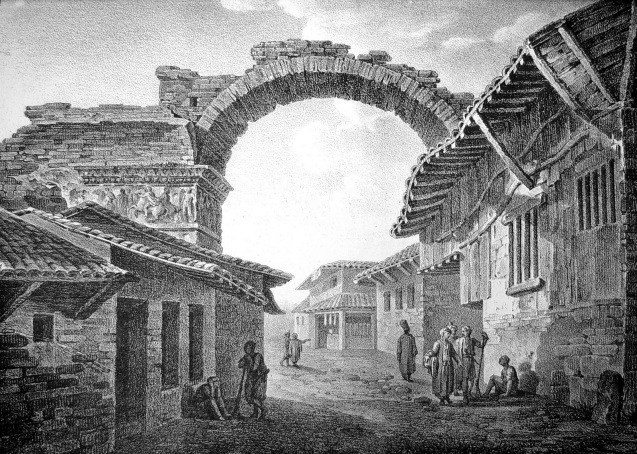The Arch of Galerius in the Ottoman period @DR