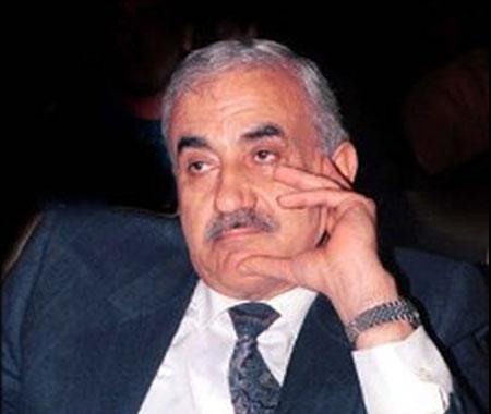 George Habash, líder da FPLP, a segunda maior facção da OLP, e um dos grandes rivais de Yasser Arafat. @DR