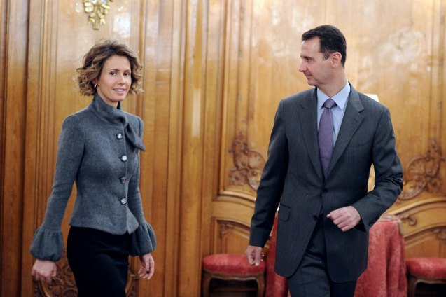 "Last week, as Bashar al-Assad's forces continued their bombardment of the city of Homs, The Times's Martin Fletcher asked whether Asma al-Assad, Bashar's wife, whose family hails from the besieged city, would remain silent. ""Has Syria's Princess Diana become its Marie Antoinette?"" he asked. On Tuesday he received an answer. In an email to The Times, Asma—or her office—said her husband ""is the President of Syria, not a faction of Syrians, and the First Lady supports him in that role."" The email continued: ""The First Lady's very busy agenda is still focused on supporting the various charities she has long been involved with,"" but that ""she listens to and comforts the families of the victims of the violence."" © The Daily Beast"