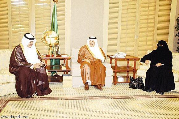 Uma das primeiras imagens públicas de Norah Al Fayez, após a nomeação para o Governo. @ Center for Human Rights & Democracy in Saudi Arabia