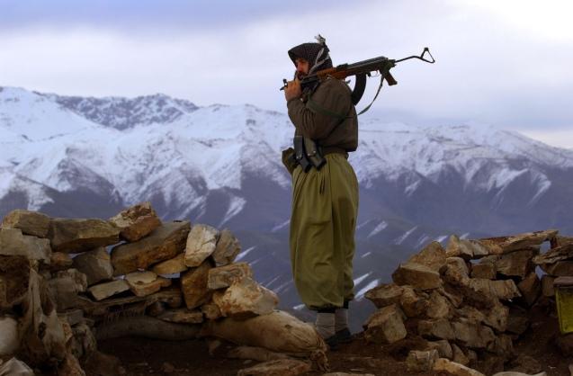 Um guerrilheiro do PKK @DR