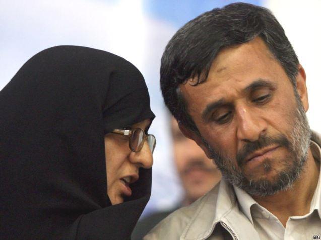 Com a sua mulher, Azam Al Sadat Farahi. @DR (Direitos reservados | All Rights Reserved)