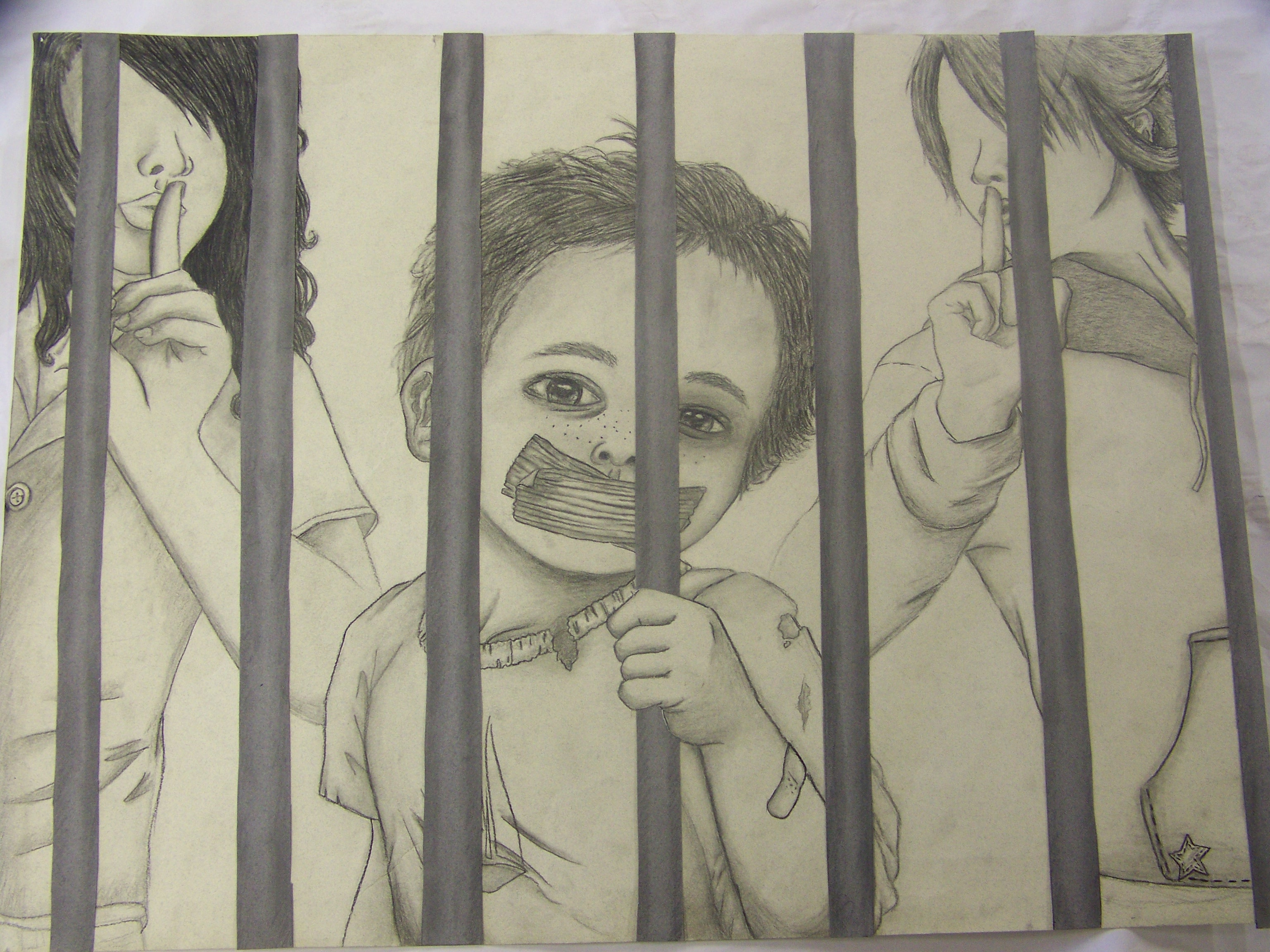 a childhood lost behind bars Children behind bars  and pulling so tight he lost consciousness  has estimated that more than 1 million children are behind bars around the world.