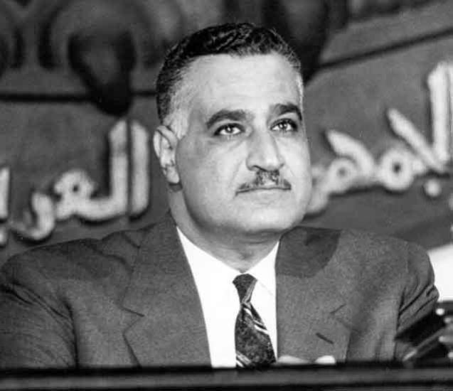 Gamal Abdel Nasser, o Presidente egípcio que era, simultaneamente, aliado e rival de Hafez al-Assad. Ambos foram os grandes derrotados da Guerra dos Seis Dias, contra Israel, em 1967. @DR (Direitos Reservados | All Rights Reserved)