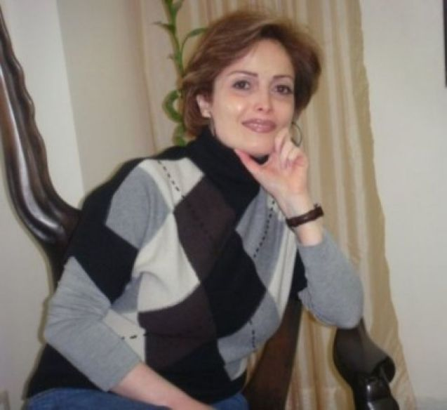 Suhair Atassi, na Síria, antes de ser forçada ao exílio, onde é agora uma das mais importantes líderes da oposição. © Direitos Reservados | All Rights Reserved