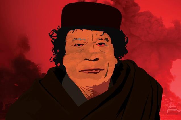 Muammar Kadhai foi assassinado em Outubro de 2011. @Daniel Morgenstern