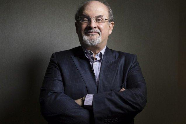 "A 17 de Agosto de 2014, Salman Rushdie,  recebe  o Hans Christian Andersen Litteraturpris, um prémio bianual conferido a escritores que ""partilham o amor  pela arte narrativa e  contos de fadas"". © Direitos Reservados | All Rights Reserved"