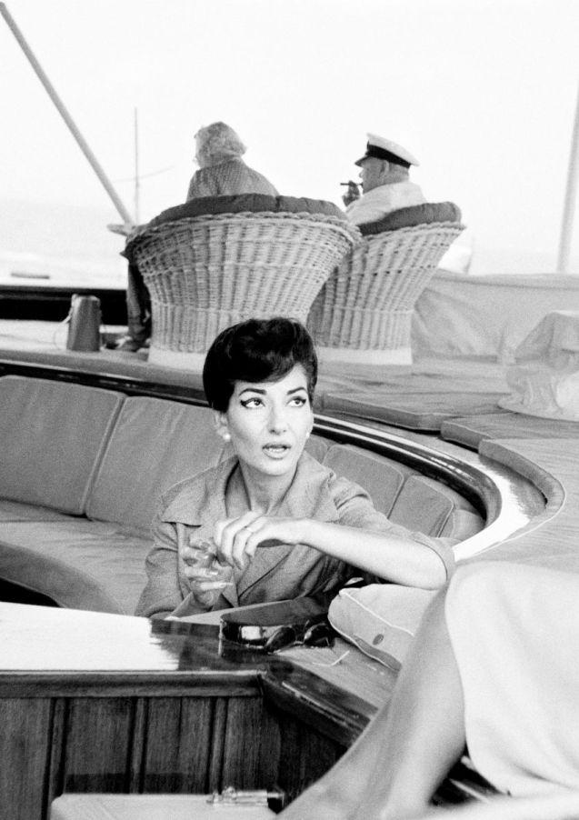 Opera singer Maria Callas @Ara Güler