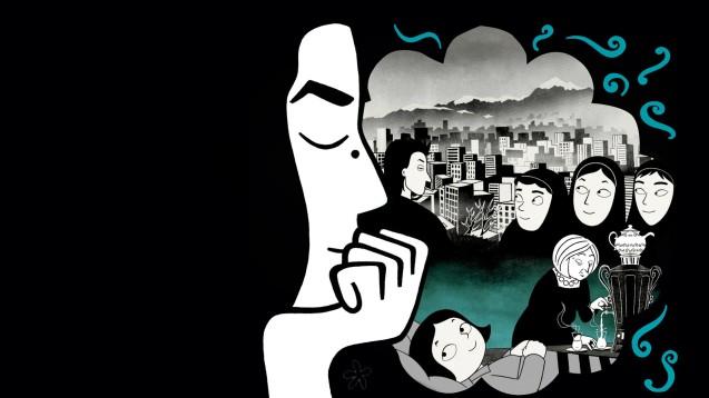 Persépolis, de Marjan Satrapi, a BD e o filme que engradeceram a sua fama. © Direitos Reservados | All Rights Reserved