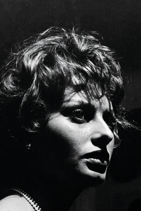 Italian actress Sofia Loren @Ara Güler