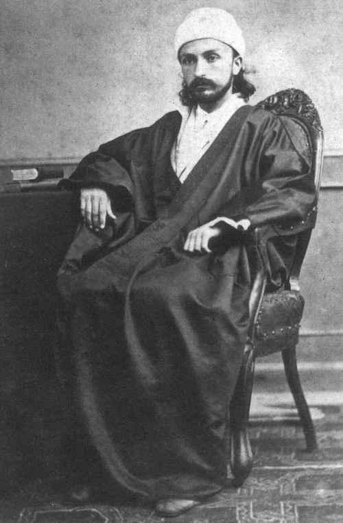 'Abdu'l-Bahá, filho de Bahá'u'lláh, um das figuras reverenciadas pelos Bahá'ís. @Povo de Bahá | Marco Oliveira