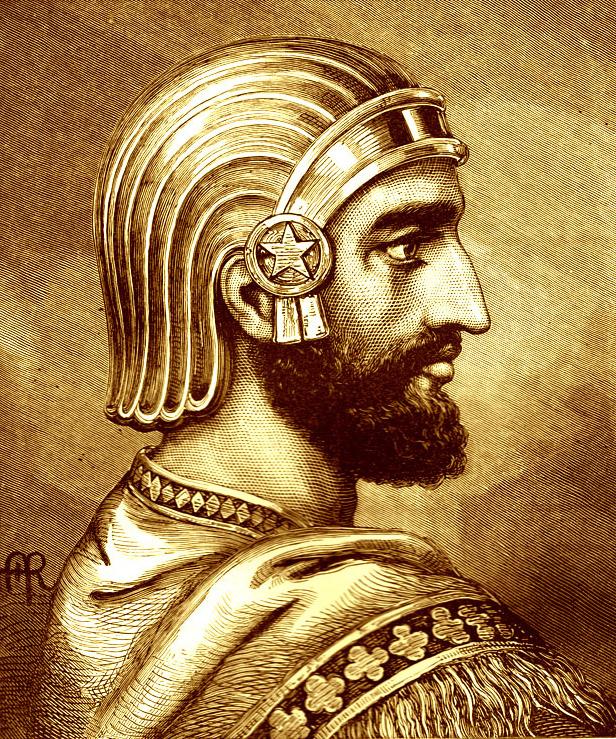 Ciro II, fundador da dinastia dos Aqueménidas @DR (Direitos Reservados | Rights Reserved)