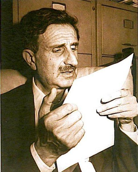 Kamal Jumblatt, o líder druso do Líbano que Hafez al-Assad mandou assassinar, em 1977, quando ele se aliou a Yasser Arafat, da OLP, desobedecendo às ordens de Damasco, que controlou o país vizinho até 2004. @DR (Direitos Reservados| All Rights Reserved)