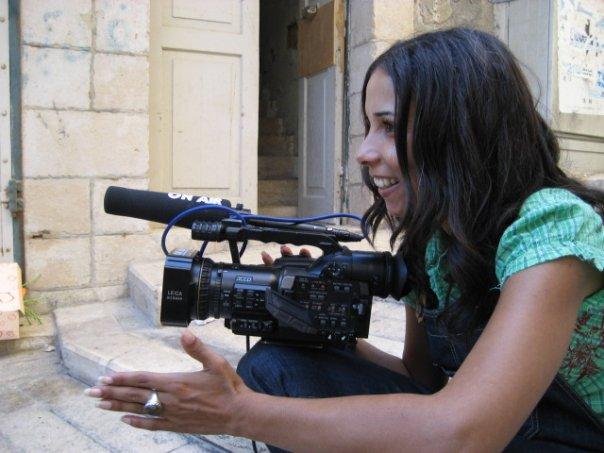 A cineasta Ibtisam Mara'ana Menuhim, palestiniana de cidadania israelita escreveu e tealizou um documentário sublime © Cortesia de Ibtisam Mara'ana Menuhim
