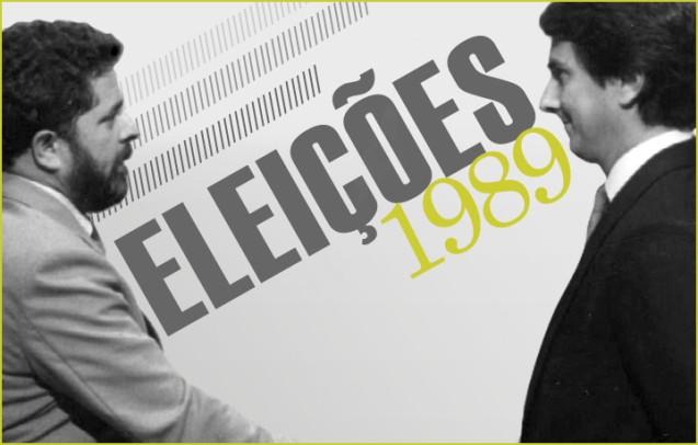 Fernando Collor de Mello (que seria o vencedor na segunda volta) e Lula da Silva (que só ganharia em ) disputaram as © Direitos Reservados | All Rights Reserved
