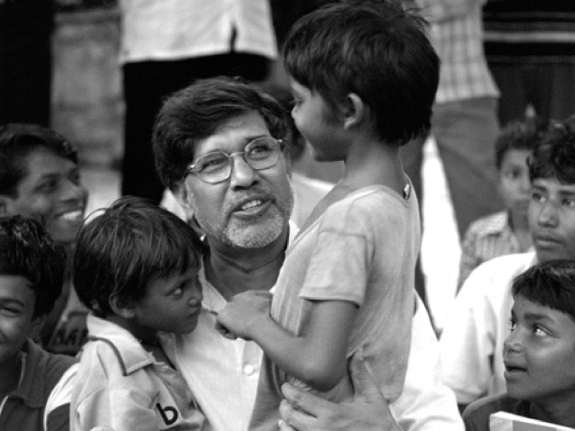 Kailash Satyarthi, o indiano que partilhou a paquistanesa Malala Yousafzai o Nobel da Paz 2014 © gazetadebistrita.ro/