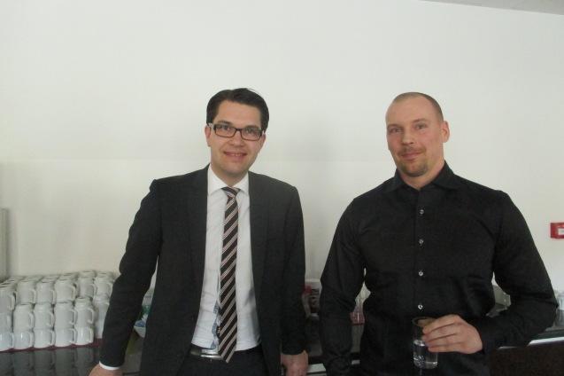 Jimmie Åkesson e Mattias Karlsson © Direitos Reservados | All Rights Reserved