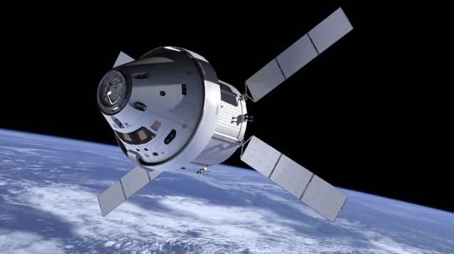 A nave Orion © NASA