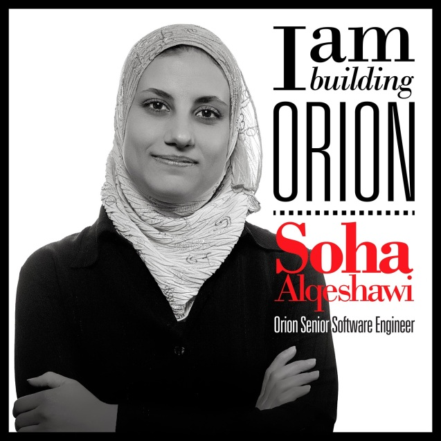Soha Alqeshawi - Engenheira sénior de software da nave espacial Orion ©Friends of NASA's photos