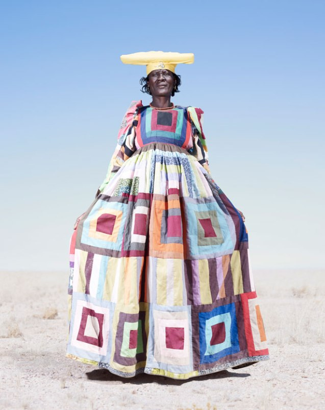 The Herero women adopted the German missionaries' floor length gowns. ©