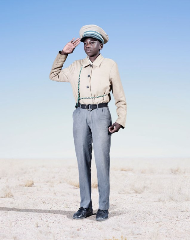 The attire was at one point forced upon the Herero people, but it has since become a tradition and point of pride ©