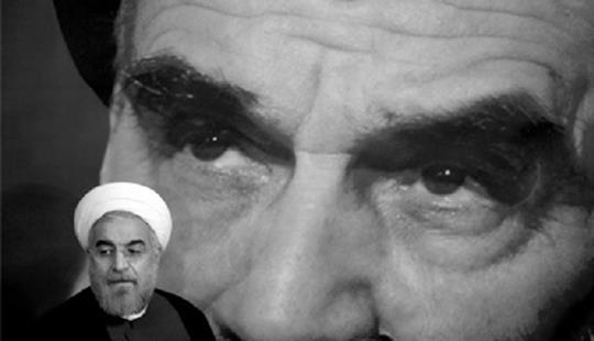 Hassan Rouhani é visto como um pragmático. O Supremo Líder tem permitido alguma margem de manobra ao novo Presidente, poupando-o às críticas da linha dura, porque sabe que só fim das sanções previsto no acordo assinado na Suíça permitirá a sobrevivência do regime. © iranliberty.net
