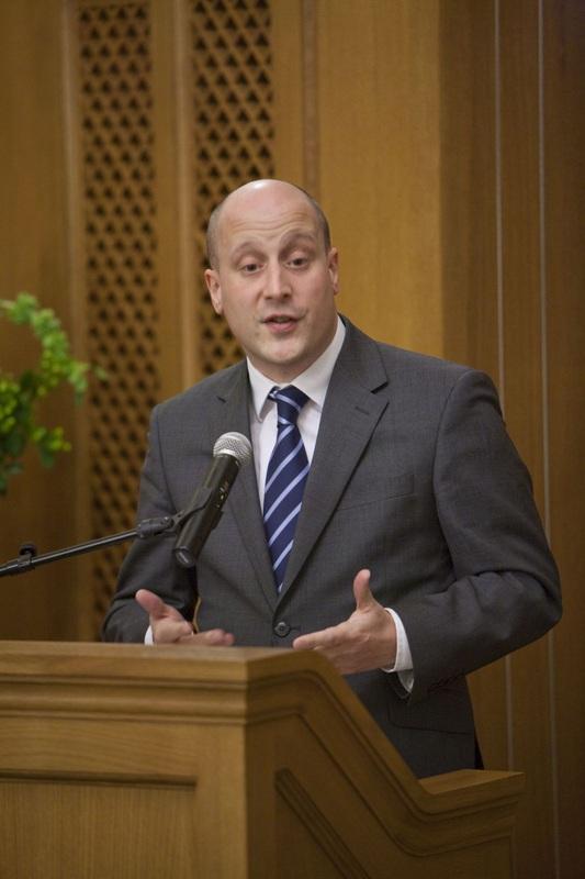 Alexander Evans, coordenador da ONU que supervisiona a al-Qaeda e os Taliban © Direitos Reservados | All Rights Reserved