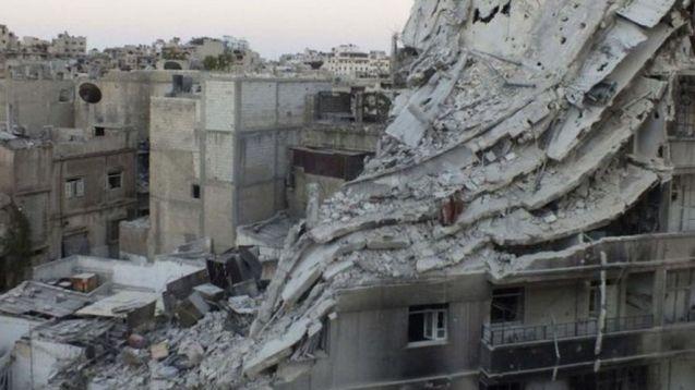 Massacre ordenado por Bashar al-Assad na cidade de Homs, em 2013 © BBC