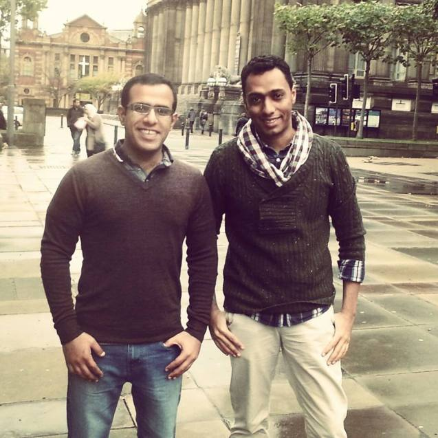 Khalfan and Nabhan, in the United Kingdom, where they apllied for political asylum © All Rights Reserved