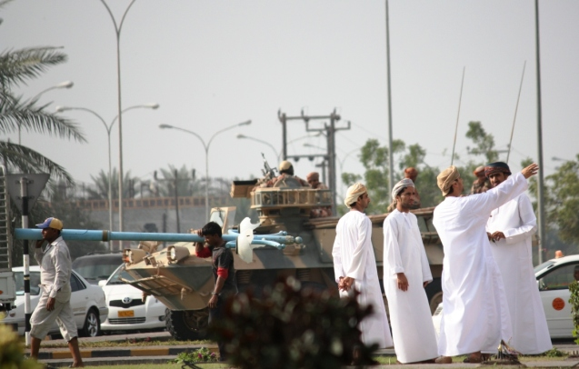 "Sohar was one of the centres of the 2011 protests, inspired by the popular revolts of the so-called ""Arab Spring"". © danandjillian3.blogspot"