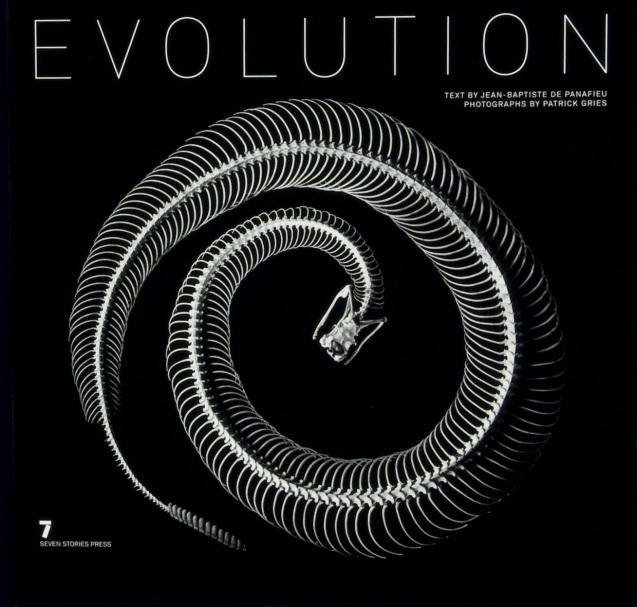 Evolution: Encomendado pelo Museu de História Natural de Paris e textos do biólogo Jean-Baptiste de Panafieu, o livro, publicado em 2008 e aclamado como obra-prima