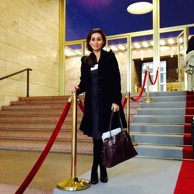 Reem Asaad, uma das mulheres árabes mais poderosas, não excluir concorrer no futuro a um cargo político. © Cortesia de Reem Asaad | Courtesy of Reem Asaad