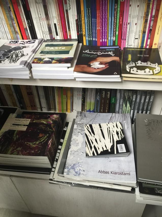 Homenagem a Abbas Kiarostami, o grande cineasta iraniano que morreu em 4 de Julho. O Fórum dos Artistas em Teerão é um dos novos espaços de liberdade © Margarida Santos Lopes | Direitos Reservados