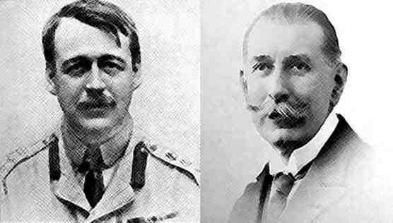 Sir Mark Sykes (esq.) e François Georges-Picot