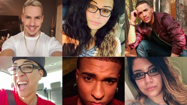 Algumas das muitas vítimas do massacre em Orlando © Direitos Reservados | All Rights Reserved