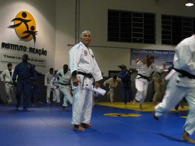 Geraldo Bernardes é um dos fundadores do Instituto Reação, projecto de inserção social através do desporto © Jornal Tipo Carioca