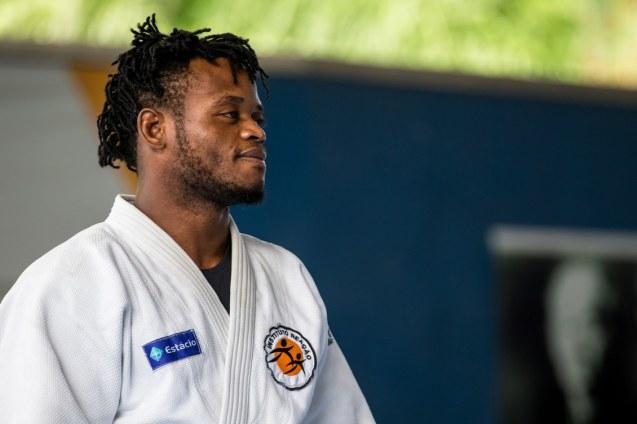 Popole Misenga foi um dos atletas refugiados com melhor classificação nos Jogos Olímpicos Rio 2016 © Miriam Jeske | Brasil2016.gov.br